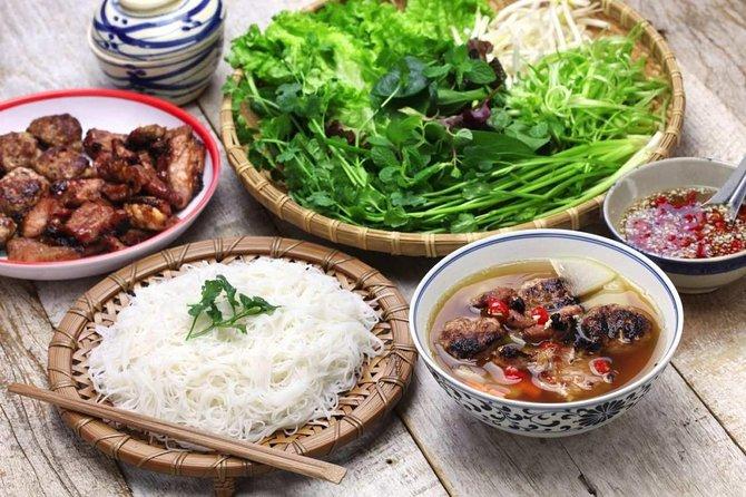 Hanoi morning street food