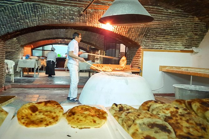 Tbilisi Walking Tour with Cable Cars, Wine Tasting and Traditional Bakery photo 6