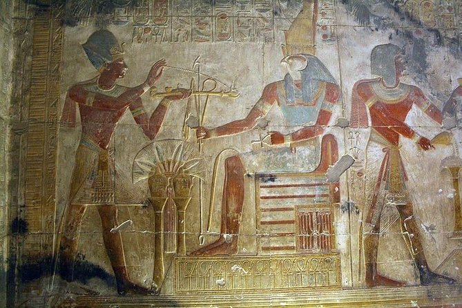 The Mysteries of Denderah and Abydos including lunch
