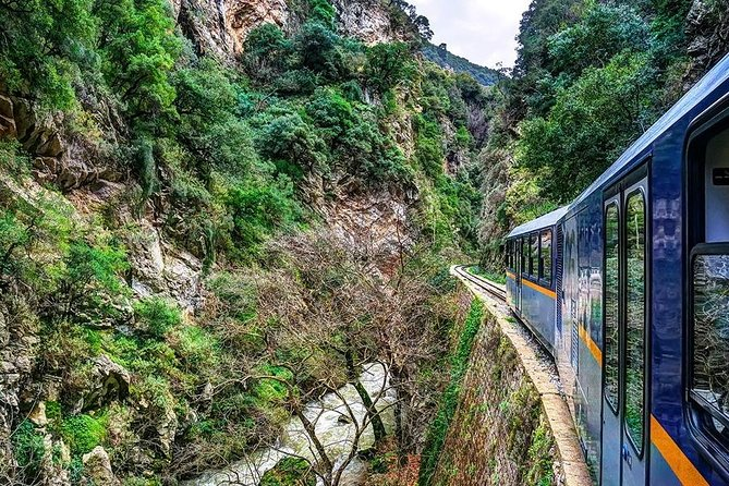 Kalavryta (Rack railway) Cave of Lakes, private tour from Athens/ Nafplion (11h)