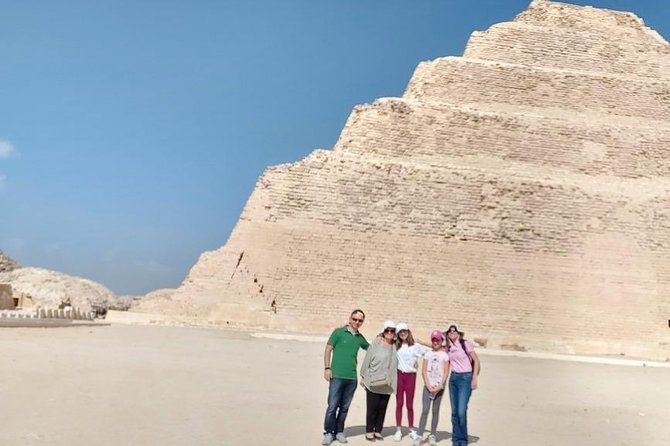 Private Tour - Giza Pyramids, Memphis and Sakkara Tour photo 1