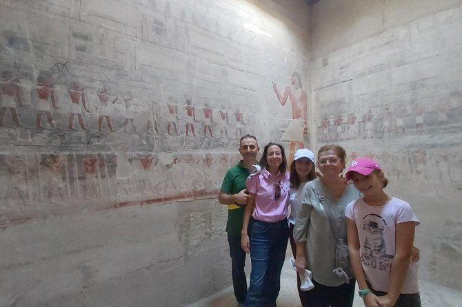Private Tour - Giza Pyramids, Memphis and Sakkara Tour photo 2