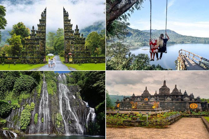 North Bali Tour: Wanagiri Hills, Waterfall, Hot Spring, Buddhist Monastery
