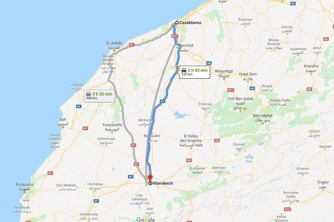 Casablanca to Marrakech