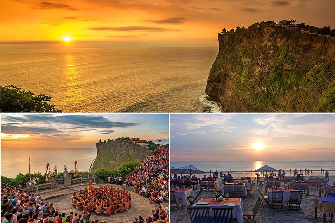 Uluwatu Sunset, Kecak Dance, and Grilled Seafood Dinner