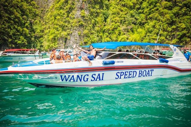 Phi Phi Islands One Day Tour by Wangsai Speedboat