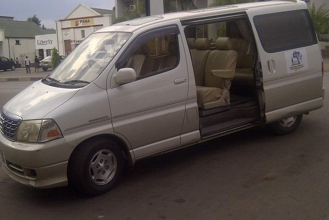 very comfortable and specious air- conditioned 7 seater mini Buses.