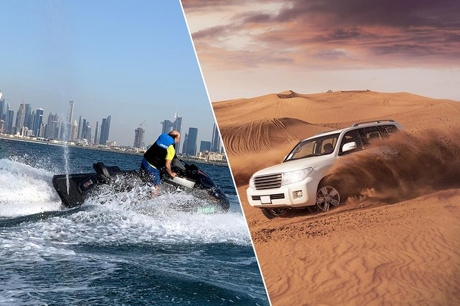 Dubai: Morning Desert Safari with Jetski Ride