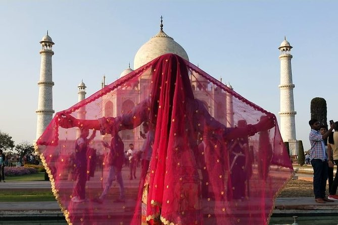 Agra City Tour from Delhi in 2nd A/C Train Coach