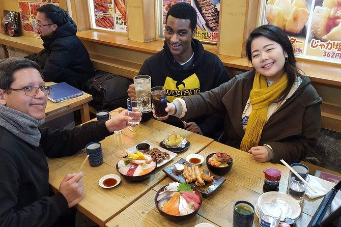 Otaru Walking & Street Food Tour in Hokkaido