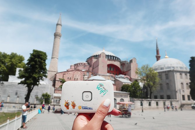 Unlimited 4.5G WiFi Device & Airport Delivery in Turkey