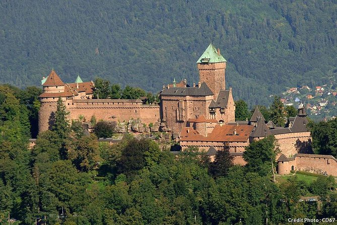 Alsace tour with Haut-Koenigsbourg castle from Strasbourg
