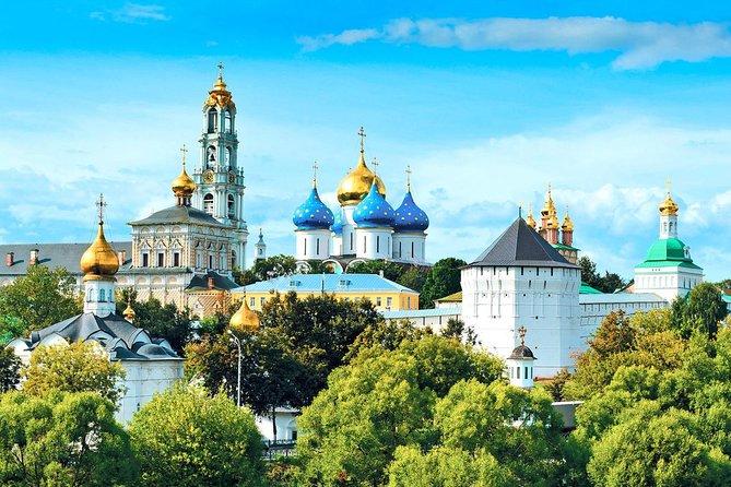 Private tour: Moscow city tour + Arbat Street, Moscow metro & Sergiev Posad