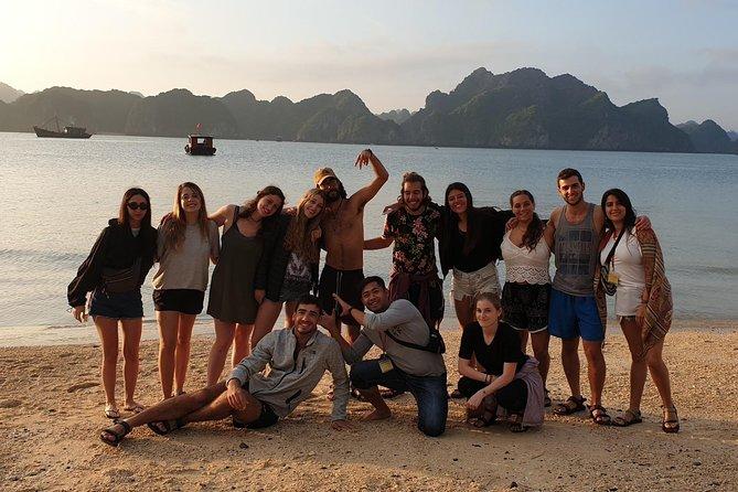 Best love Full day trip to Lan Ha bay and Ha Long bay
