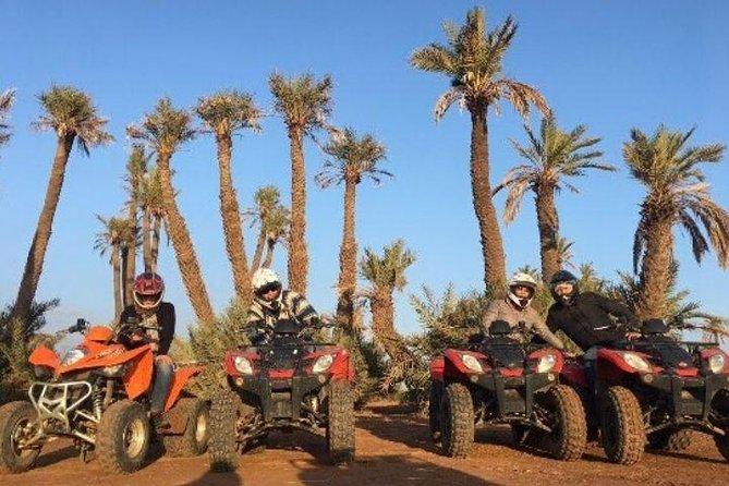 Quad Biking Tour In Palmerie From Marrakech