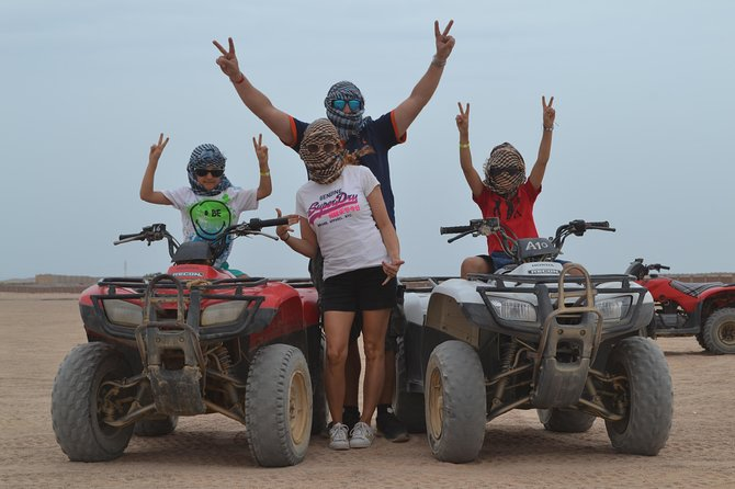 Mega Safari Quad Bike Desert & Camel Ride (7 Hrs.) - Hurghada