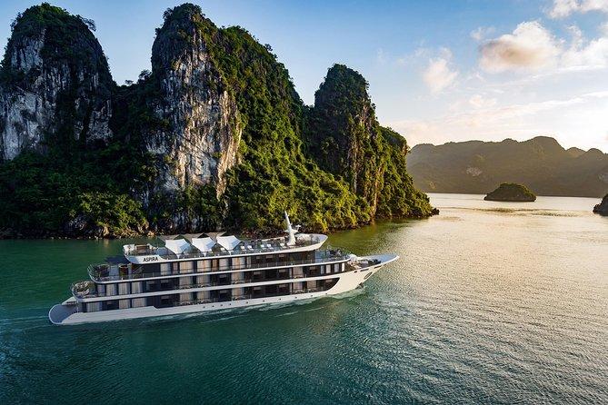 Aspira Cruises 5 star: Amazing 3 days exploring Halong & Cat Ba island