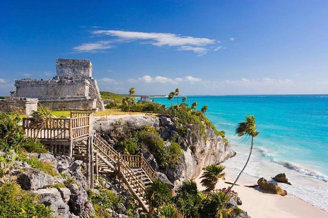 Tulum and Coba guided tour, and visit to Playa del Carmen and Cenote (4x1)
