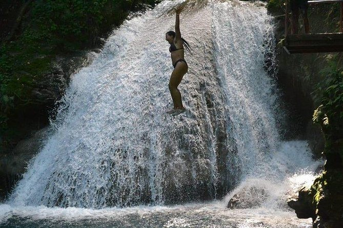 Private Tour From Runaway Bay to Ocho Rios, Blue Hole, Sightseeing and Shopping.