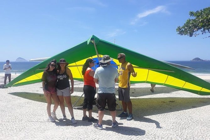 Panoramic Delta Wing Flight + Tijuca Forest - 6 hours Tour