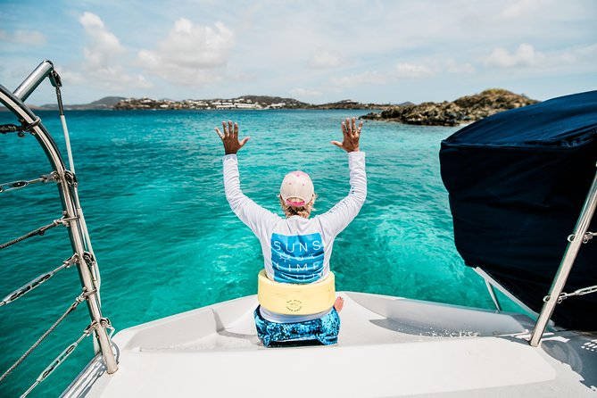 St. Thomas PiZZA Pi Snorkel Sail w/ Beach Stop, Lunch & Open Bar - Ritz-Carlton