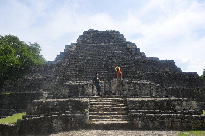 Ancient Chacchoben Mayan Ruins from Costa Maya