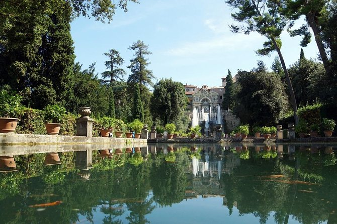 From Rome: private Wine tasting and Tivoli Tour *special meals - Private Tour