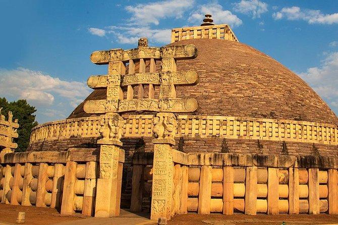 UNESCO & Historical Sites - Khajuraho, Sanchi Stupa, Gopachal, Bhimbetka (2N 3D)