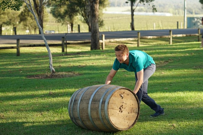 Hunter Valley Wine Barrel Rolling image