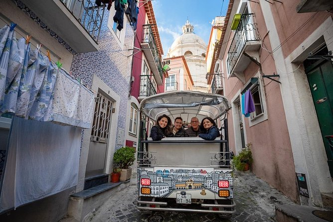 Tuk Tuk Tour in Lisbon - Old Town
