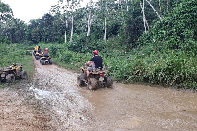 Roatan Off Road ATV Adventure with Island Tour and Sloth Park.