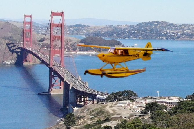 Private San Francisco Seaplane Adventure, City Tour, and Tour of Alcatraz