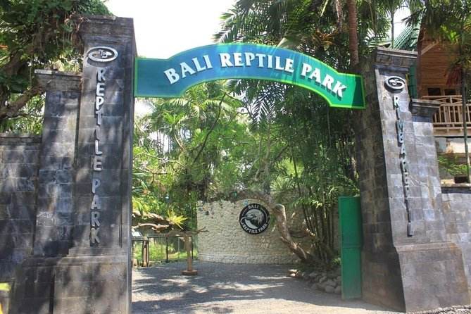 Bali Reptile Park Entrance Ticket