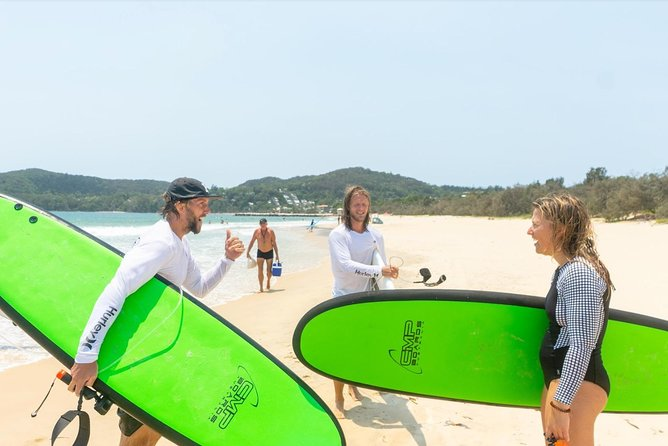 Paddles & Paddles | Noosa Surf Lesson, Kayak hidden waterways (Half Day)