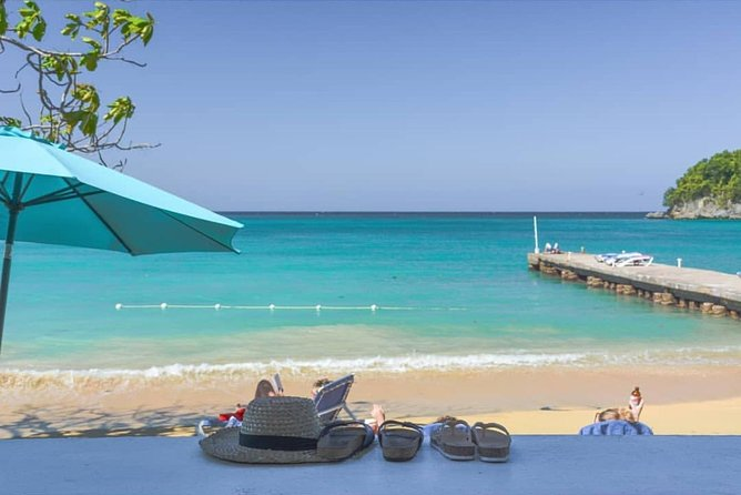 Blue Hole and Beach from Cruise ship Ports or Hotels in Ocho Rios