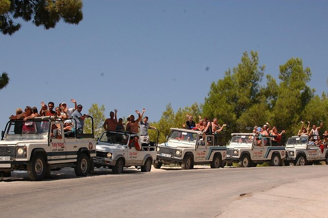 Jeep Safari on Taurus Mountains from Side