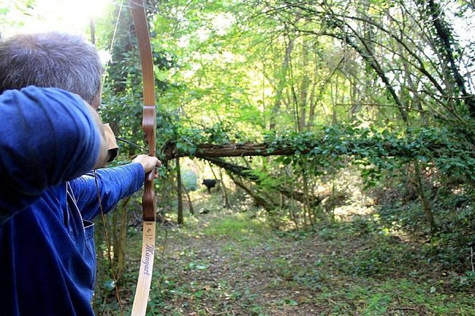Archery experience in the wood