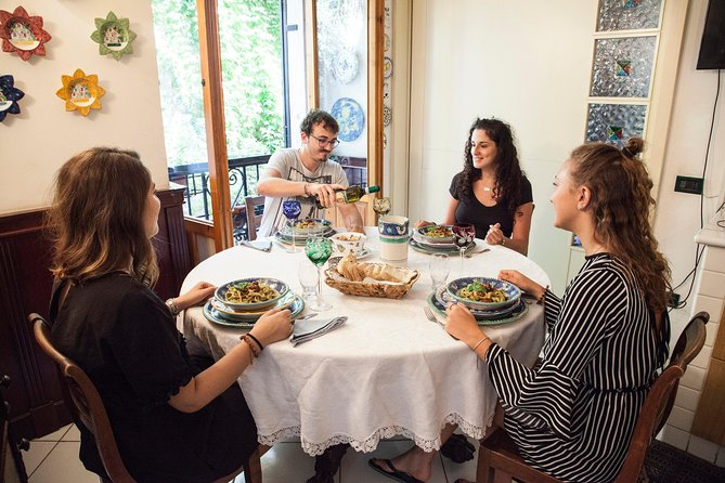 Dining experience at a local's home in Cagliari with show cooking