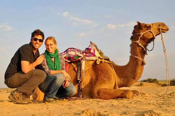 4x4 Deluxe Desert Safari Dubai with Camel Riding