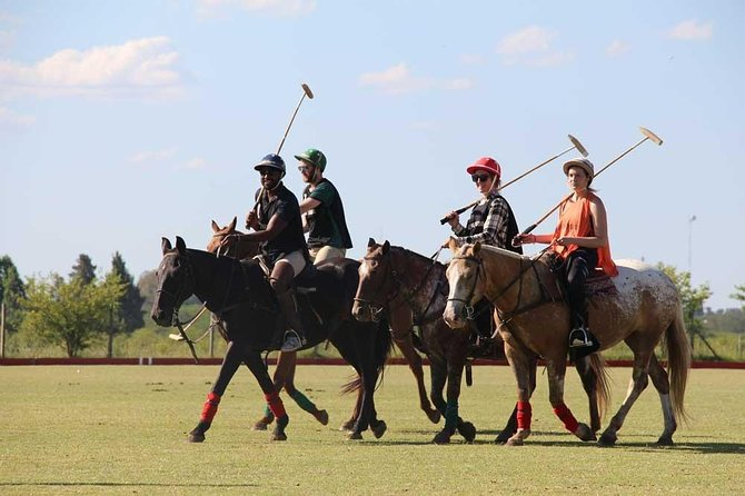 Polo day with class and game from Buenos Aires