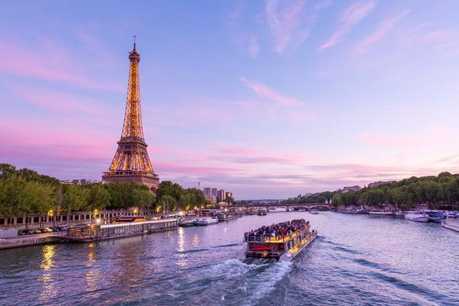 Skip the Line: 2 in 1 VIP access to Eiffel Tower + Seine River Cruise Tickets