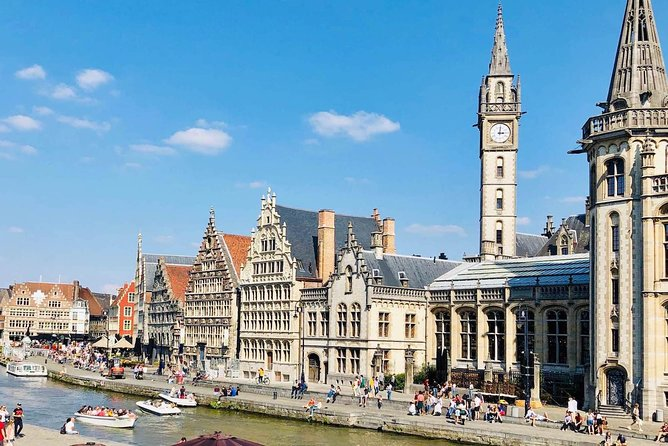 Corona-proof Full Day Private Experience to Medieval Ghent from Holland (max 6p)
