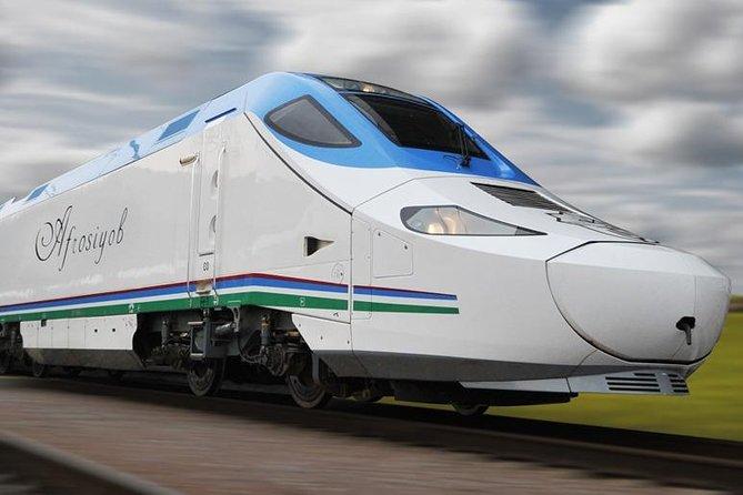 """Samarkand - Tashkent High Speed Train """"Afrasiyab"""""""
