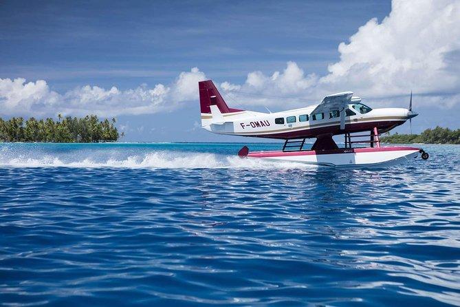 Private Taha'a Day Trip from Bora Bora by Seaplane