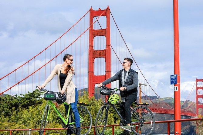 Golden Gate Bridge to Sausalito Bike Rental