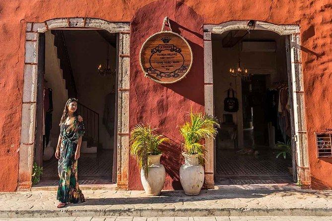 Tour to Ek Balam and Las Coloradas plus Cenote Hubiku and Valladolid