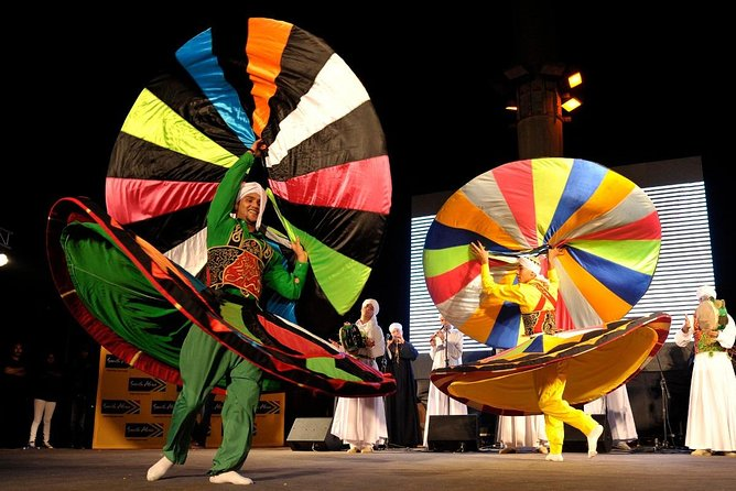 whirling dervish show with dinner