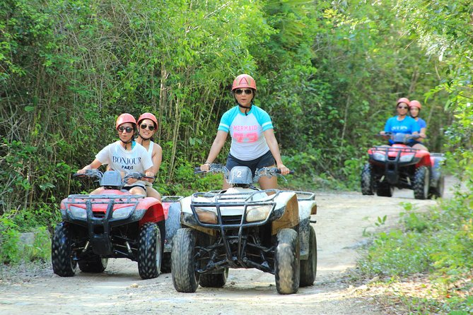 ATV tour, zip lines and cenote the best Eco Park Cancun adventure