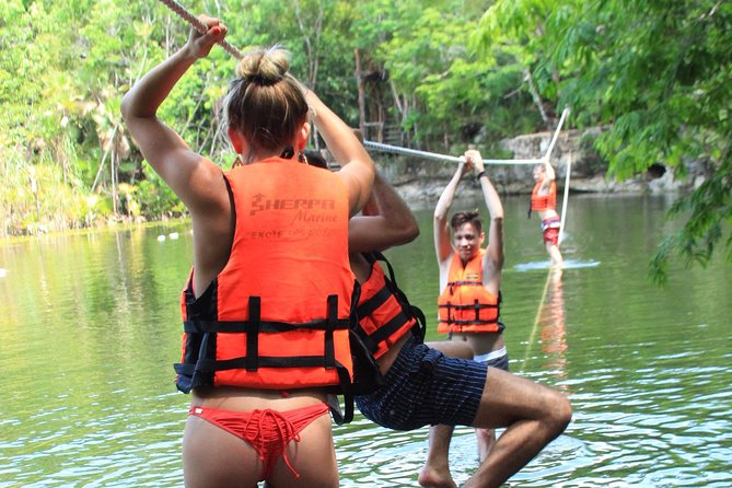 ATV tour, zip lines and cenote the best Eco Park Cancun adventure photo 4