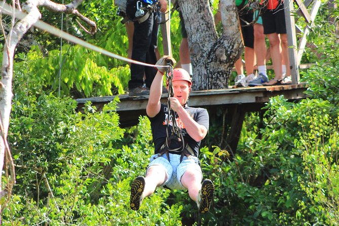 ATV tour, zip lines and cenote the best Eco Park Cancun adventure photo 14